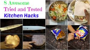 Kitchen Hacks by 8 Useful Kitchen Tips And Tricks In Hindi With English Subtitles