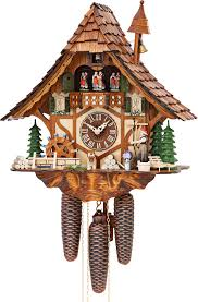 Chalet Style by Cuckoo Clock 8 Day Movement Chalet Style 40cm By Hekas 3727 8 Ex