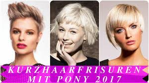 Neuesten Kurzhaarfrisuren 2017 by Kurzhaarfrisuren Mit Pony 2017