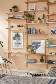 Build A Simple Wood Shelf Unit by Uo Home Lately Adjustable Shelving Wood Storage And Tiny Houses