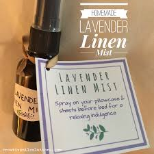 diy lavender linen mist recipe and video creative oil solutions