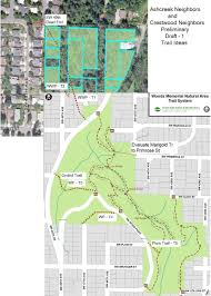 Portland Trails Map by Woods Memorial Natural Area U2013 New Trails And Preservation Update