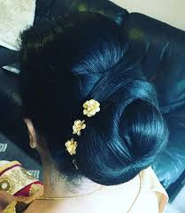 flower hair bun 40 indian bridal hairstyles for your wedding