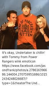 bas rutten it s okay undertaker is chillin with tommy from power