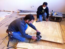 cheap chic how to install and paint plywood floors improvised