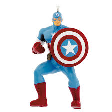 hallmark marvel captain america ornament