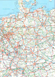 Bavaria Germany Map by Germany Road Map