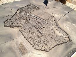Map Of Jerusalem The Madaba Map