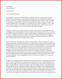 cover letter for a scholarship scholarship letter sample apa example