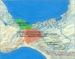 Chiapas Mexico Map by The Waters Of Sidon U201d The Grijalva River Or The Usumacinta River