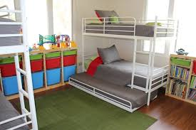Bunk Bed Without Bottom Bunk How To Fit 6 Kids In One Room On A Budget