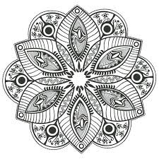 Coloring Pages Mandalas Color Mandalas Coloring Pages Free