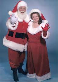 mrs santa claus costume santa claus with mrs clause with coca cola style costumes we