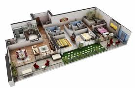 custom home design plans 3d floor plans 3d house brilliant home design plans indian style