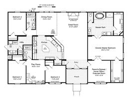 the hacienda ii vr41664a manufactured home floor plan or modular