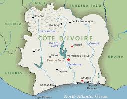 map of abidjan map of abidjan cote d ivoire images travelquaz