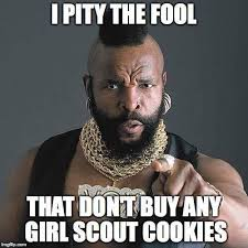 Cookie Meme - cookie memes girl scout with a cause