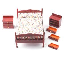 Dolls House Furniture Sets Df267 1 12 Scale Dolls House Furniture Bedroom Set Minimum World
