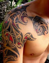 shoulder blade tattoos cool tribal tattoos