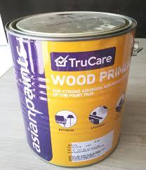 Asainpaints by Asian Paints Wood Primers 4 Ltr White U2013 Buildmats