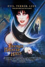 original elvira u0027s haunted hills large movie poster elvira