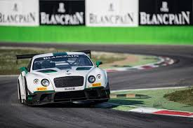 bentley gt3 bentley continental gt3 takes first blancpain win