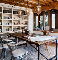 Table Mill Valley Studio Eclectic Home Office San - Designer home office