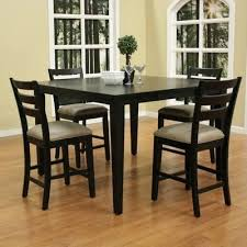black counter height table set black counter height dining set 5 piece counter height dining set