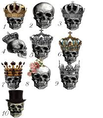 gold or silver top hat skull wedding cake stand skull cake