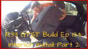 nissan skyline qld for sale nissan skyline r33 gtst build ep 134 interior install part 2