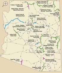 Arizona Maps by Arizona Scenic Roads See For Yourself Why The Scenic Roads Of