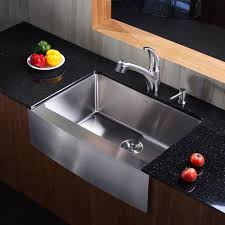 Kitchen Sink And Faucet Combo by Kraus Khf20030kpf2110sd20 30 Inch Stainless Steel Single Bowl
