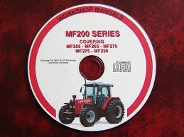 massey ferguson mf200 series 255 265 270 275 290 workshop service