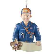 tiger cub scout ornament home kitchen