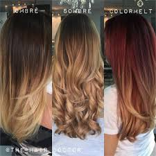 coloring over ombre hair ombre sombre and colormelt how do they differ news modern salon