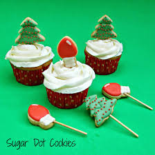 sugar dot cookies cookie cupcake and cake toppers