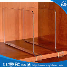 acrylic shelf divider acrylic shelf divider suppliers and