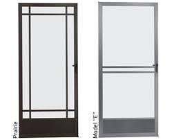 swinging screen doors at home mobile screening