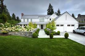 a gorgeous modern farmhouse style home in washington modern