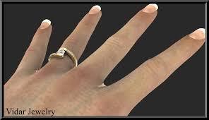 tension ring sapphire tension set ring vidar jewelry unique custom