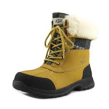 ugg australia s butte boots sale ugg australia mens butte patchwork boot wheat 1014358 9 5 wheat ebay