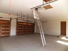 Loft In Garage by Storage In Garage Roof Accessed By Loft E Ladder Loft E Ladder