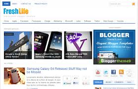 top 10 premium wordpress like blogger templates for free
