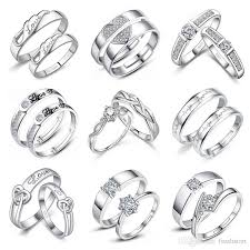 wedding rings new images 2018 couple rings new arrival engagement rings for men women 925 jpg