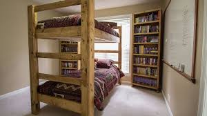 How To Make A Loft Bed With Desk 9 Free Bunk Bed Plans You Can Diy This Weekend