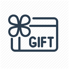 discount gift card coupon discount gift card giveaway present sale voucher icon