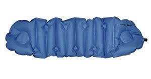 amazon com klymit cush inflatable pillow u0026 seat cushion blue