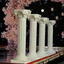 aliexpress com buy free shipping 88 h wedding roman column
