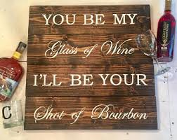 bourbon sign foodie gift s day gifts for him bourbon lip