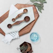 geometric serving trays wood free shipping u0026 returns u2013 the
